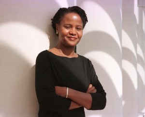 """FOR USE WITH STORY-ARTS-DANTICAT-Writing about the life and history of her homeland, 29-year-old Haitian-born author Edwidge Danticant, shown December 2, is riding high with reviewers having praised her latest book """"The Farming of Bones"""" which is a story based on the 1937 slaughter of 30,000 Haitians living in border towns ordered by Domincan Republic dictator Rafael Trujillo, as her best to date. Danicat's popularity was catapulted onto the New York Times bestseller list after her first book """"Breath Eyes Memory"""" was praised on the Oprah Winfrey talk show. CB/KM - RTRJYR3"""