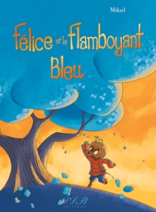 félice flamboyant bleu