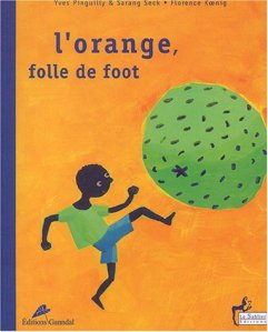 orange, folle foot