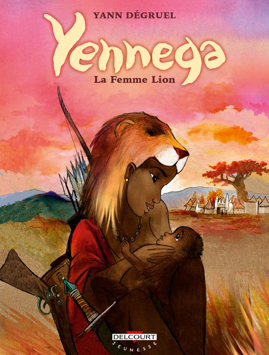 Yennega femme lion