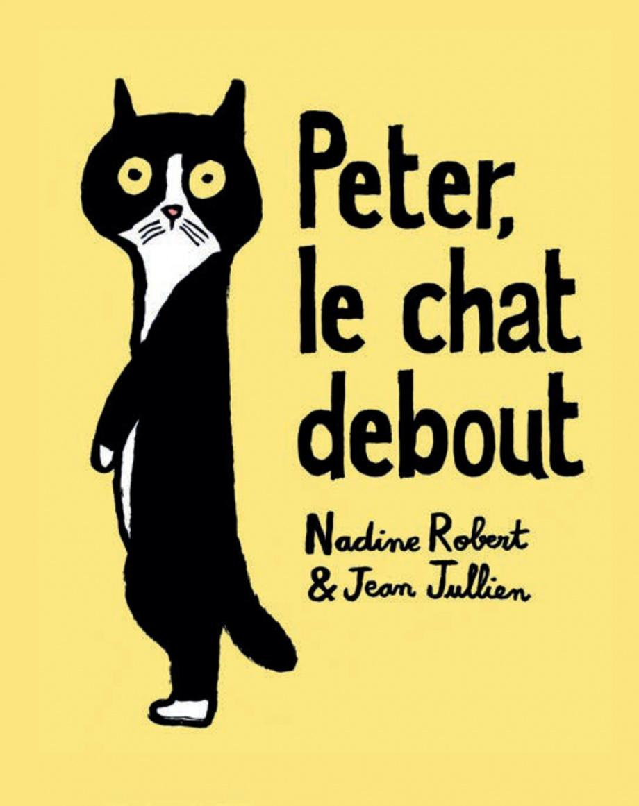 Peter le chat debout