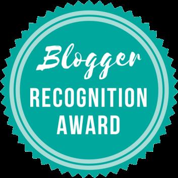 Blogger Recognition Award - Prix de reconnaissance de la blogsphère