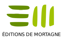 Éditions de mortagne logo