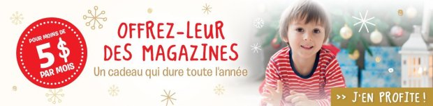 Bayard Magazines Canada Noël 2018
