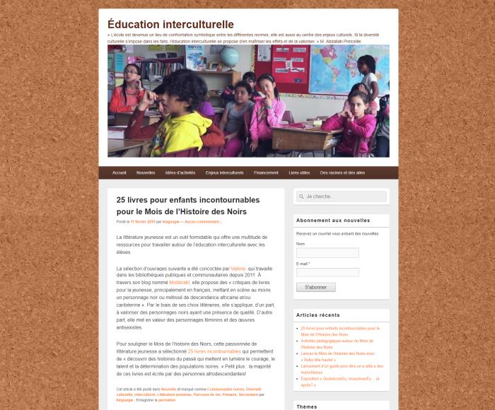 Commission scolaire de Montréal CSDM Mistikrak