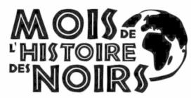 Mois de l'histoire des noirs logo