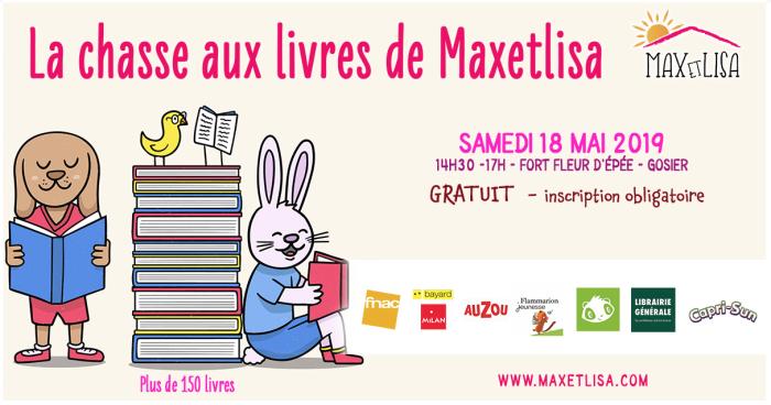 chasse aux livres de Maxetlisa