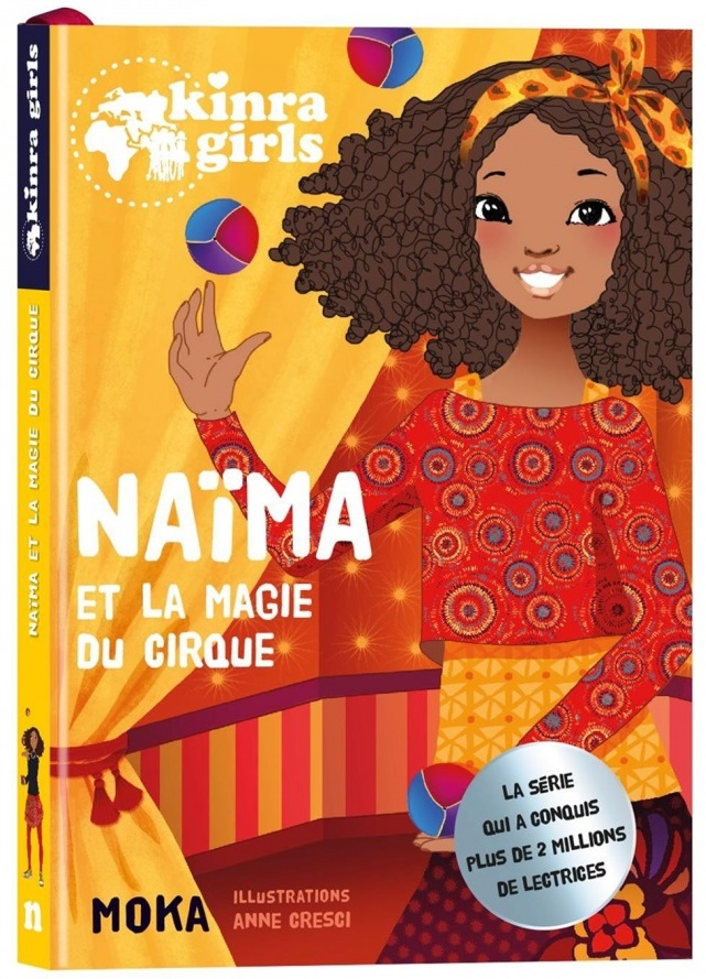 Naïma et la magie du cirque (Kinra Girls)