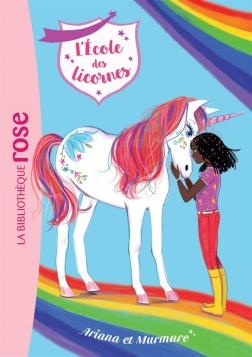 Ariana école des licornes bibliothèque rose
