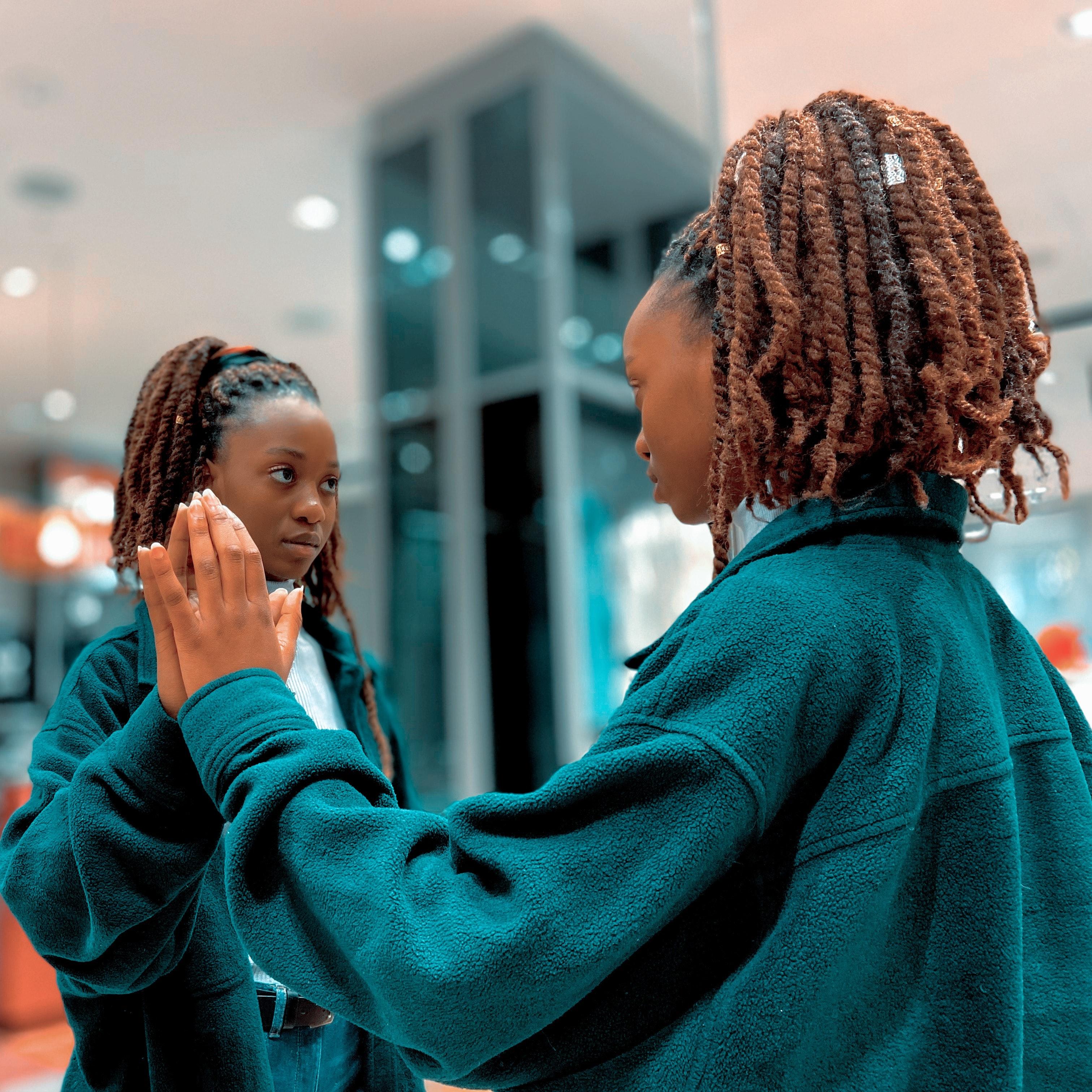 Diversité miroir reflect de soi même