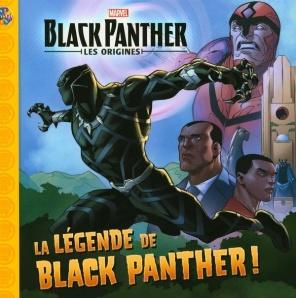 Black panther la légende livre enfants
